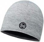 Buff Unisex Mütze Knitted und Polar Hat Taos, grau