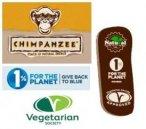 CHIMPANZEE - Yippee Bar (35 gr.)  - chocolate&almonds