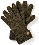 Craghoppers - dicke Strickhandschuhe Riber Glove Winter Handschuhe, grün M