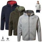Craghoppers - flauschige warme Fleece Jacke Heelan - dicke Fleecejacke grau XXL