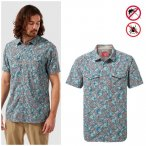 Craghoppers - NosiLife Calhoun - Herren Hemd - blau Print M