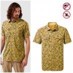 Craghoppers - NosiLife Calhoun - Herren Hemd - gelb Print M
