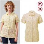 Craghoppers - NosiLife Tayma - Damen Bluse - gelb 36/S