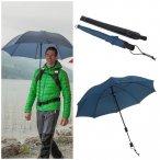 EuroSCHIRM - Göbel - Regenschirm Trekkingschirm - Swing handsfree, marine