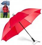 EuroSCHIRM - Göbel - Regenschirm Trekkingschirm - Swing handsfree, rot