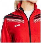 JAKO Damen Präsentationsjacke Pro - Sportjacke - schwarz rot - 42 XL