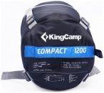 KingCamp - Compact 1200 - Schlafsack - blau