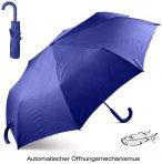 LEXON - leichter Regenschirm mit Automatik Öffnung, blau
