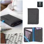 Lifeventure - Card Wallet RFiD - Geldbörse- schwarz