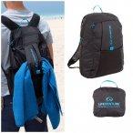 Lifeventure - Packable Backpack - 25L Rucksack, klein verpackbar - schwarz