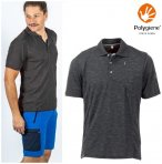 Maul - Gaigerkopf - Herren Funktions Polo-Shirt - grau melange M