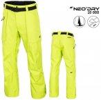 NeoDry 10 000 - Herren Skihose Winterhose - neon grün XXL