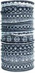 Nexi - Multifunktions Tuch Schal Kopftuch - schwarz weiß