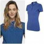 Outhorn - Damen Poloshirt Baumwolle - blau 34/XS