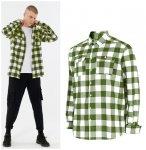 Outhorn - Herren Hemd - grün weiß kariert M