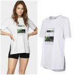 Outhorn - leave the past behind - Damen T-Shirt - weiß 36/S