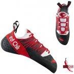 Red Chili - STRATOS Unisex - Kletterschuhe, schwarz rot EU 42.5