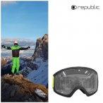 Repubic - R850 Skibrille - Herren Schneebrille weiß