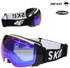 REVO - Damen Skibrille Snowboardbrille 2020 - grau schwarz