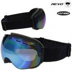 REVO - Skibrille Snowboardbrille 2020 - blau schwarz