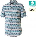 Royal Robbins - Herren Hemd Slab City Dobby S/S, Bowden blau S