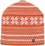 Seger - Mütze Wollmütze Heritage 3 - orange weiß - unisex