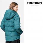 Tretorn - Baffle Short Jacket - Damen Winterjacke - artic green