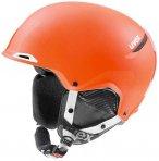 Uvex Erwachsene Jakk+ Style Skihelm, Winterhelm, matt orange 52-55 cm