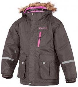 ZigZag Kinder Jacke Monte W-Pro 5.000 - Winterjacke - grau - 3 - 98cm
