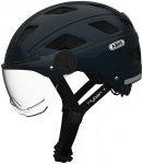 ABUS Hyban+ Helmet midnight blue, clear visor 52-58cm 2018 Fahrradhelme, Gr. 52-