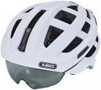 ABUS In-Vizz Ascent Helmet polar matt L   58-62cm 2019 Fahrradhelme, Gr. L   58-