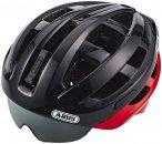 ABUS In-Vizz Ascent Helmet red comb L   58-62cm 2019 Fahrradhelme, Gr. L   58-62