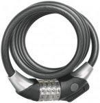 ABUS Raydo Pro 1450/185 Spiralkabelschloss TexKF schwarz  2019 Kabelschlösser