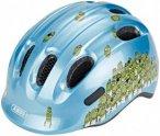 ABUS Smiley 2.0 Helmet blue croco M | 50-55cm 2019 Kinderbekleidung, Gr. M | 50-