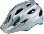 Alpina Carapax Jr. Helmet steelgrey-smaragd 51-56cm 2018 Fahrradhelme, Gr. 51-56