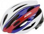 Alpina Cybric Helmet white-blue-red 58-63cm 2018 Fahrradhelme, Gr. 58-63cm