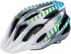 Alpina FB Jr. 2.0 Flash Helmet white-steelgrey-gradient 50-55cm 2018 Kinderbekle
