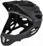 Alpina King Carapax Fullface Helmet black 57-62 cm 2018 Fahrradhelme, Gr. 57-62