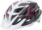 Alpina Mythos 3.0 Helmet white-purple-titanium 57-62cm 2018 Fahrradhelme, Gr. 57