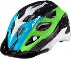 Alpina Rocky Helmet black-blue-green 47-52cm 2018 Kinderbekleidung, Gr. 47-52cm