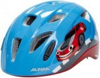 Alpina Ximo Flash Helmet Juniors red car 45-49cm 2018 Kinderbekleidung, Gr. 45-4