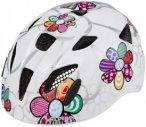 Alpina Ximo Flash Helmet Juniors white flower 45-49cm 2019 Kinderbekleidung, Gr.