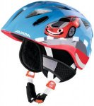 Alpina Ximo Flash Winter Helmet red car 49-54cm 2018 Kinderbekleidung, Gr. 49-54