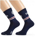 assos Sock USA Cycling USA 35-38 2018 Socken, Gr. 35-38