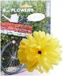 Basil Flower Dahlia für Lenker und Rahmen Gelb  2019 Zubehör Lenker & Griffe