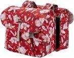 Basil Magnolia Gepäckträger Doppel-Tasche 35l poppy red  2019 Gepäckträgerta