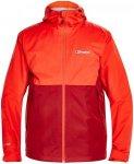 Berghaus Fellmaster Shell Jacket Men Red Dahlia/Volcano XL 2017 Softshelljacken,
