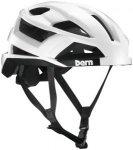 Bern FL-1 Pavé MIPS Helm weiß-glänzend 52-55cm 2019 Fahrradhelme, Gr. 52-55cm