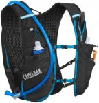 CamelBak Ultra 10 Trinkrucksack Weste black/atomic blue  2018 Trinkgürtel & -we