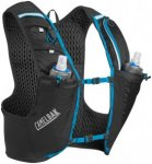 CamelBak Ultra Pro Trinkrucksack Weste with Quick Stow Flask black/atomic blue M